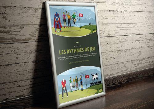 Illustration et Poster pour l'AS Charmeil.