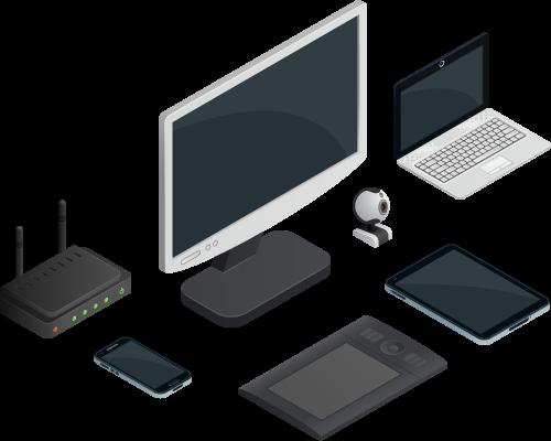 Digital - Conception et réalisation de projets numériques diffusés sur petit ou grand écran.