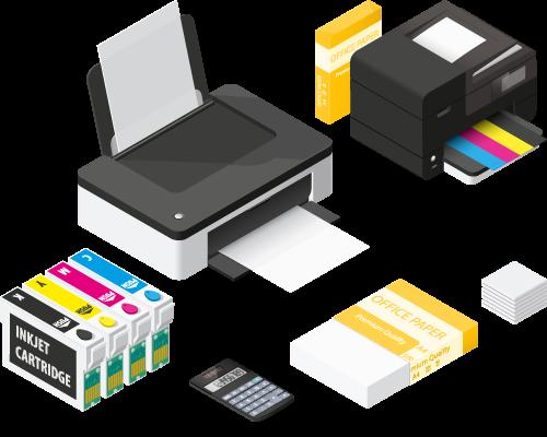 Print - Conception et réalisation de supports imprimés du petit au grand format.