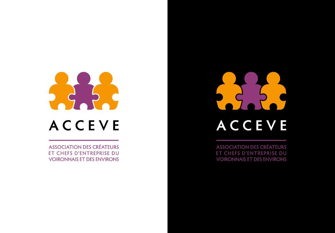 Création logo ACCEVE à Voiron