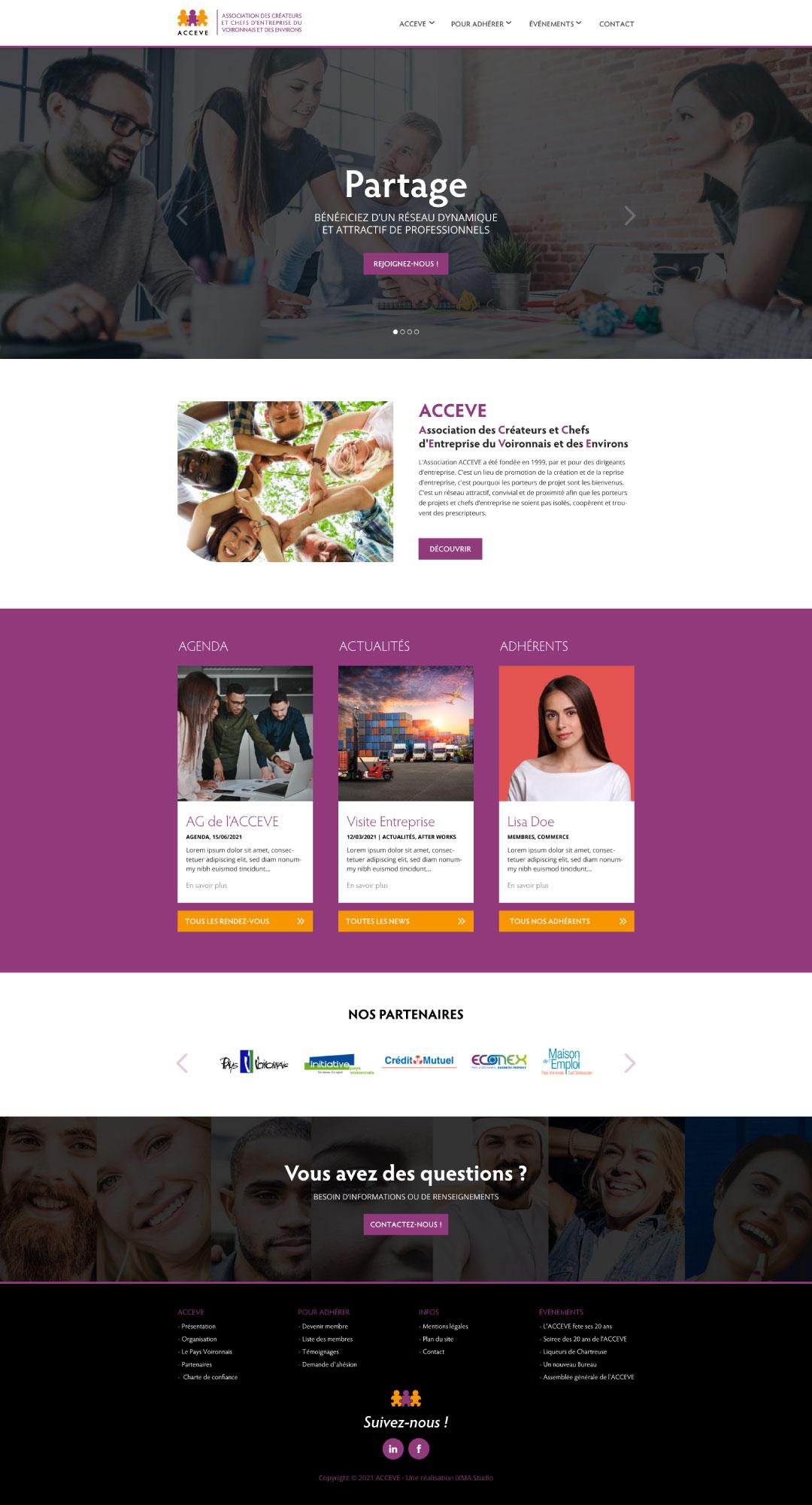 web design à Voiron