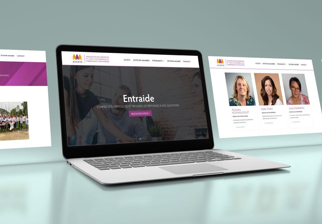 création site internet à voiron